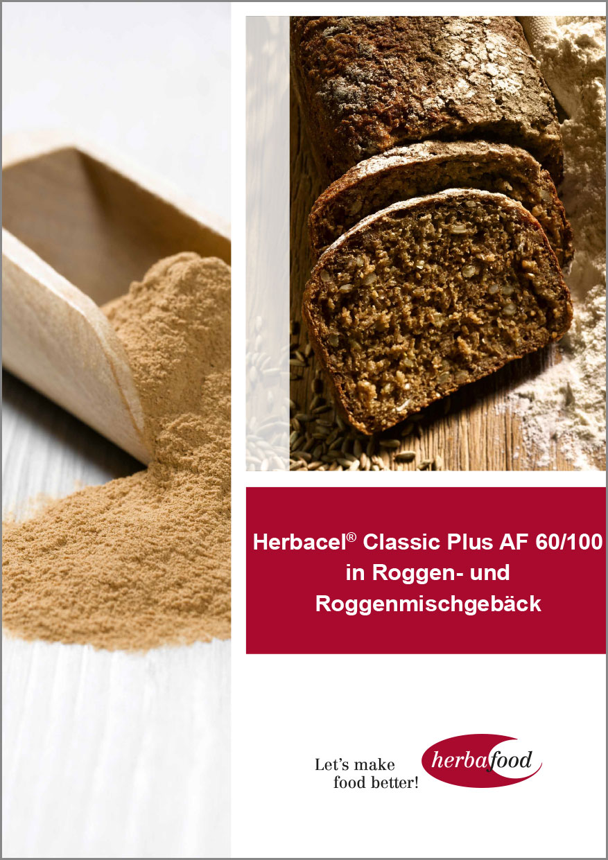 Herbacel® Classic Plus AF 60/100 in Roggen- und Roggenmischgebäck  Format: PDF-Größe: ca. 1,0 MB