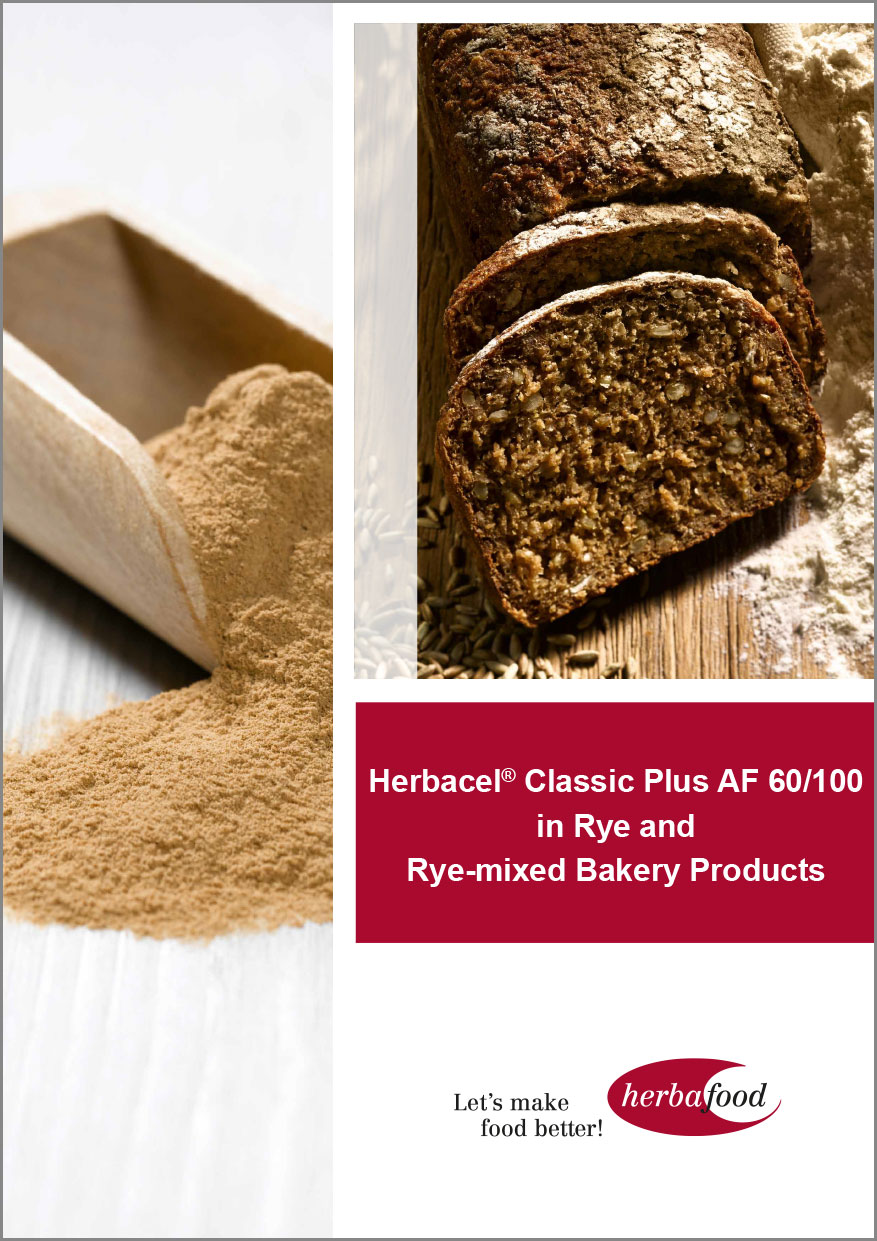 Herbacel® Classic Plus AF 60/100 in Rye and Rye-mixed Bakery Products  Format: PDF - Size: ca. 1.0 MB