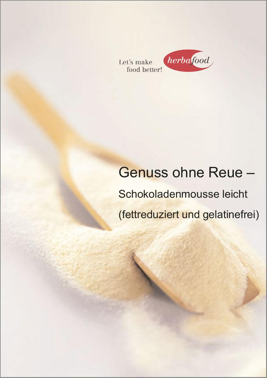 Genuss ohne Reue - Schokoladenmousse leicht (fettreduziert und gelatinefrei)  Download  Format: PDF - Größe: ca. 0,1 MB