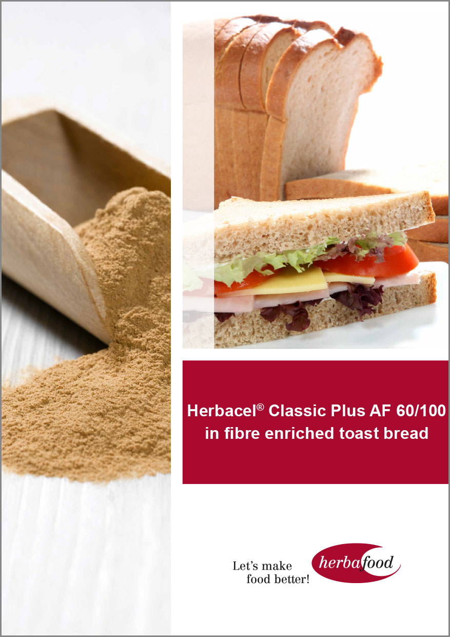Herbacel® Classic Plus AF 60/100 in fibre enriched toast bread  Format: PDF - Size: ca. 1.0 MB