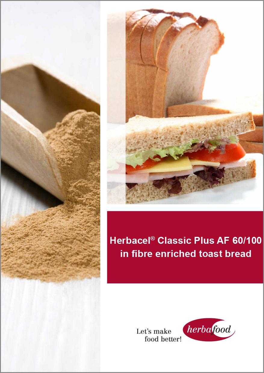 Herbacel® Classic Plus AF 60/100 in fibre enriched toast bread  Format: PDF - Size: ca. 1.0 MB