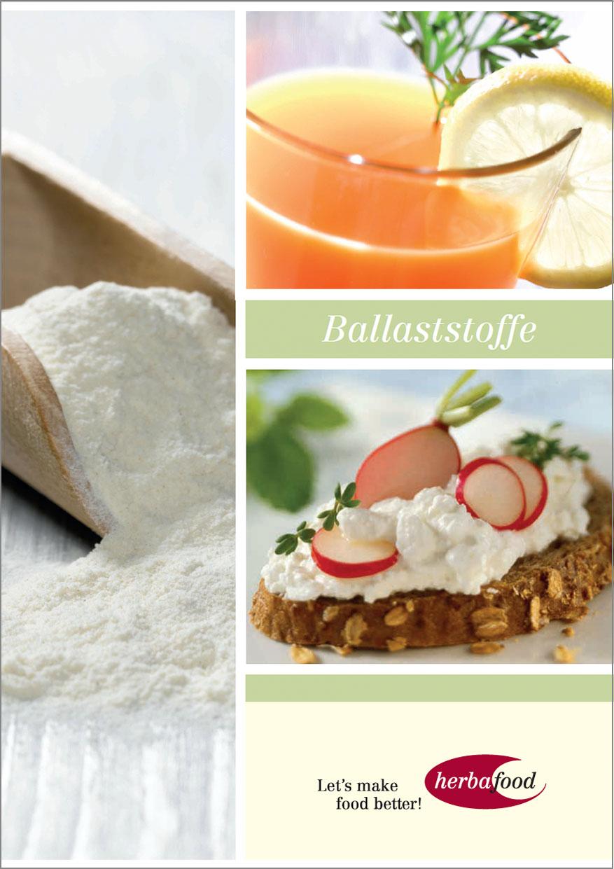 Broschüre: Ballaststoffe  Format: PDF Größe: ca. 8 MB
