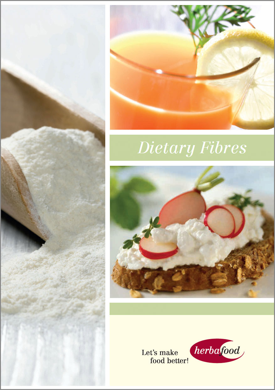 Brochure: Dietary Fibre for a Healthy Diet  Format: PDF Size: approx. 8 MB
