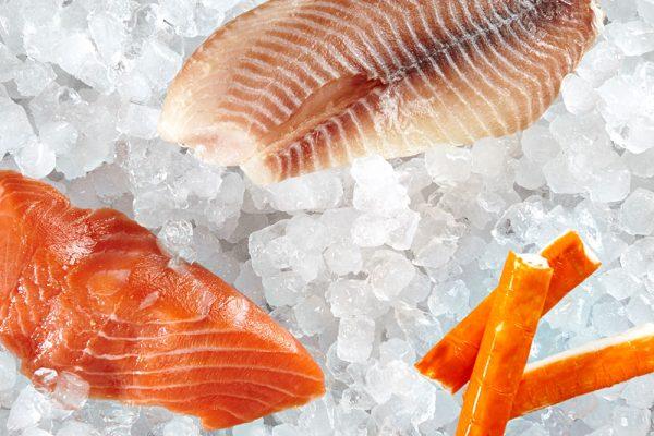 Fisch und Surimi