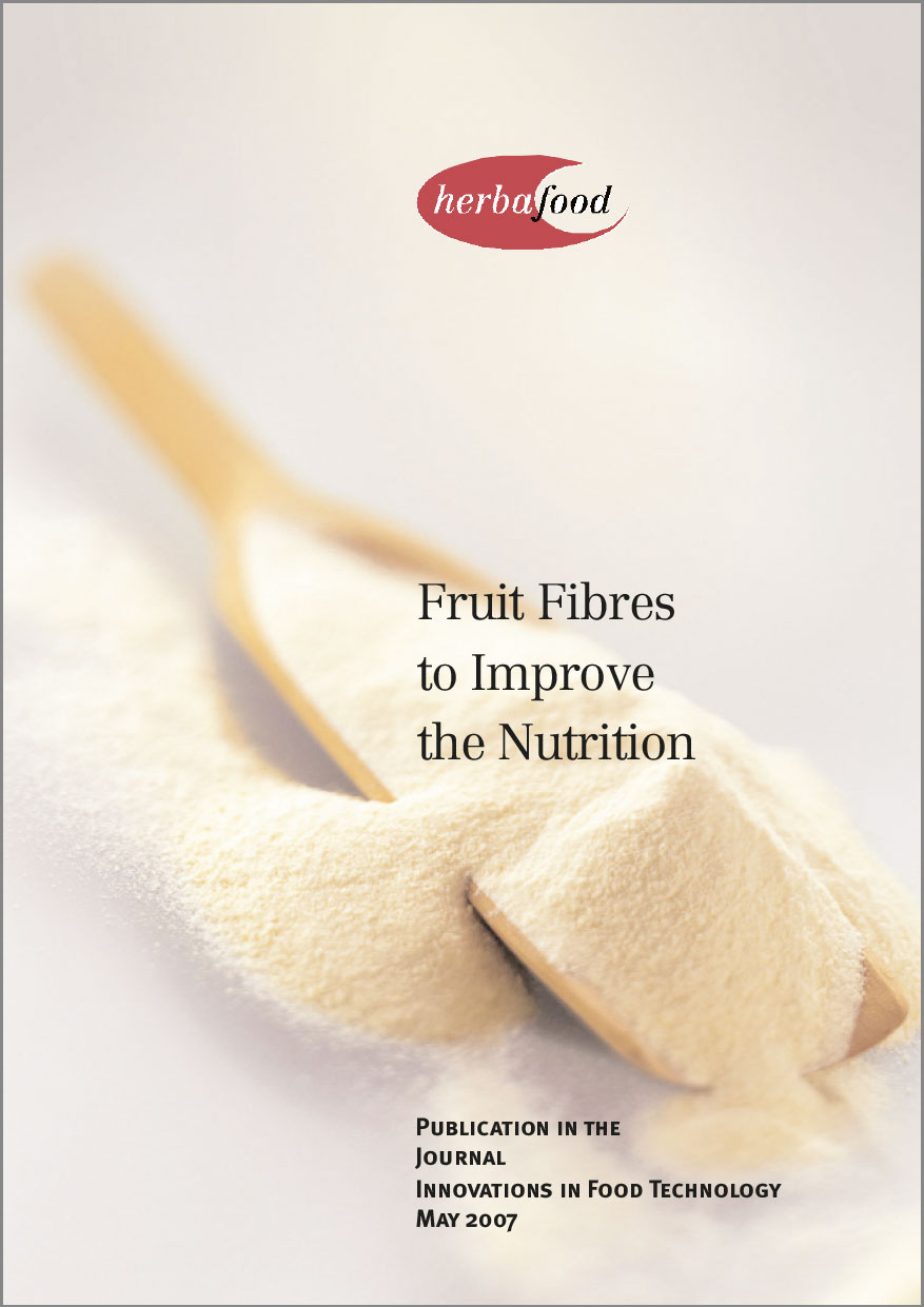 Fruit Fibres to Improve the Nutrition  Format: PDF - Size: approx. 0.2 MB