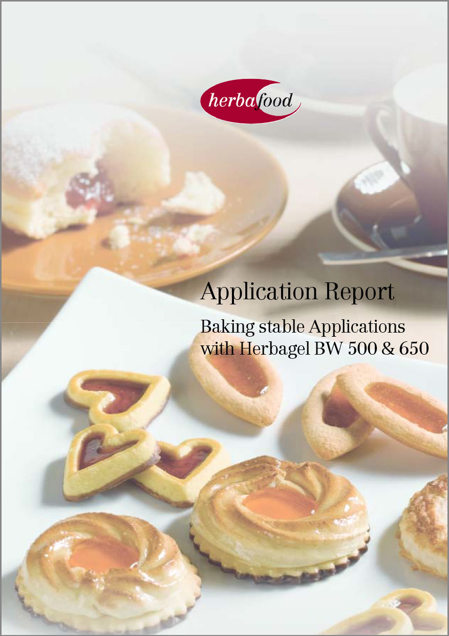 Baking stable Applications with Herbagel® BW 500 and 650   Format: PDF - Size: approx. 0.2 MB