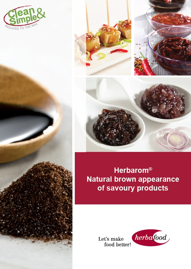 Herbarom – Natural brown appearance of savoury products (Format: PDF – Size: 700 KB)