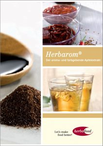 Flyer: Herbarom® – Der aroma- und farbgebende Apfelextrakt  Format: PDF Größe: ca. 1 MB
