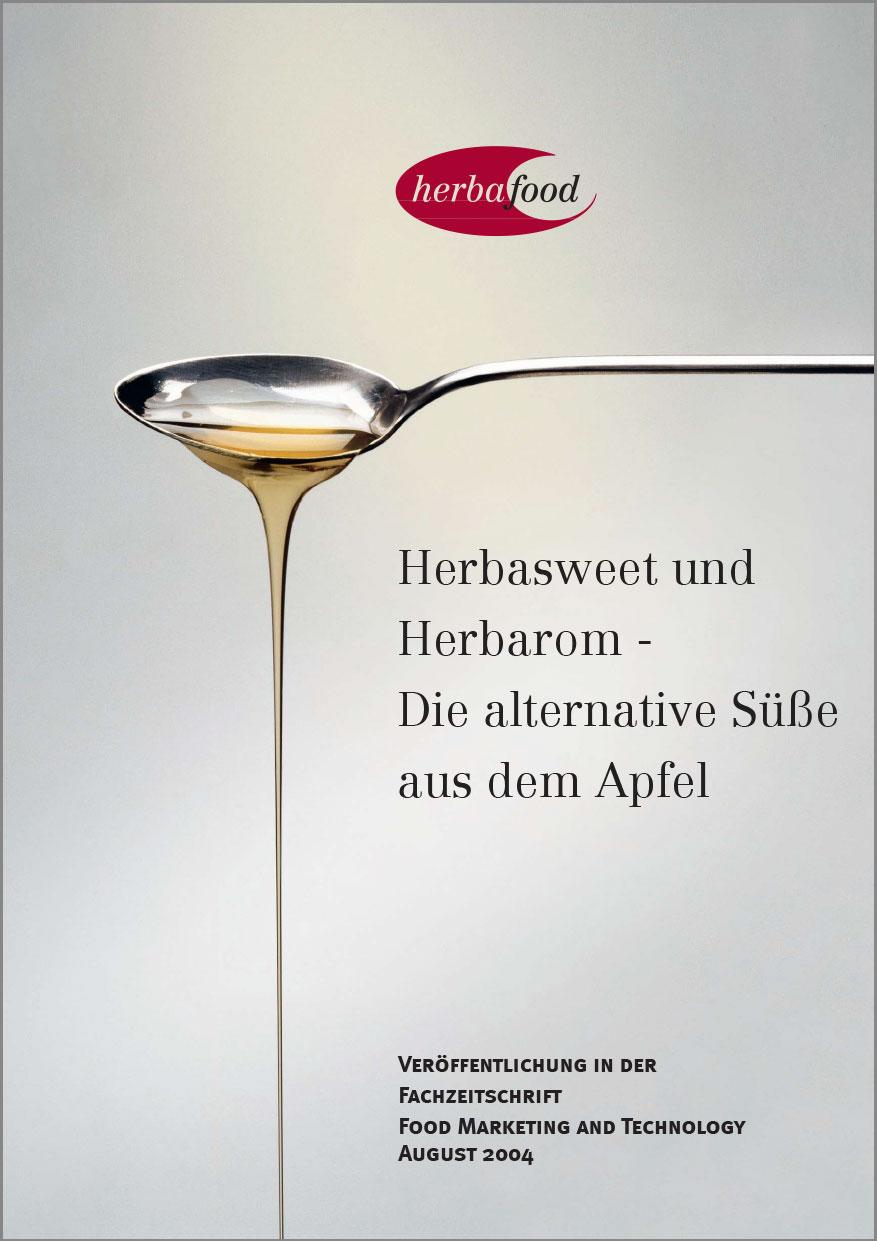 Herbasweet® und Herbarom® Apfelsüßen - Die natürliche und gesunde Alternative  Format: PDF - Größe: ca. 0,3 MB