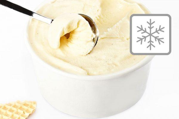 Milchbasiertes Eis