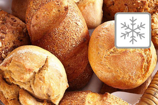 Frozen baked goods