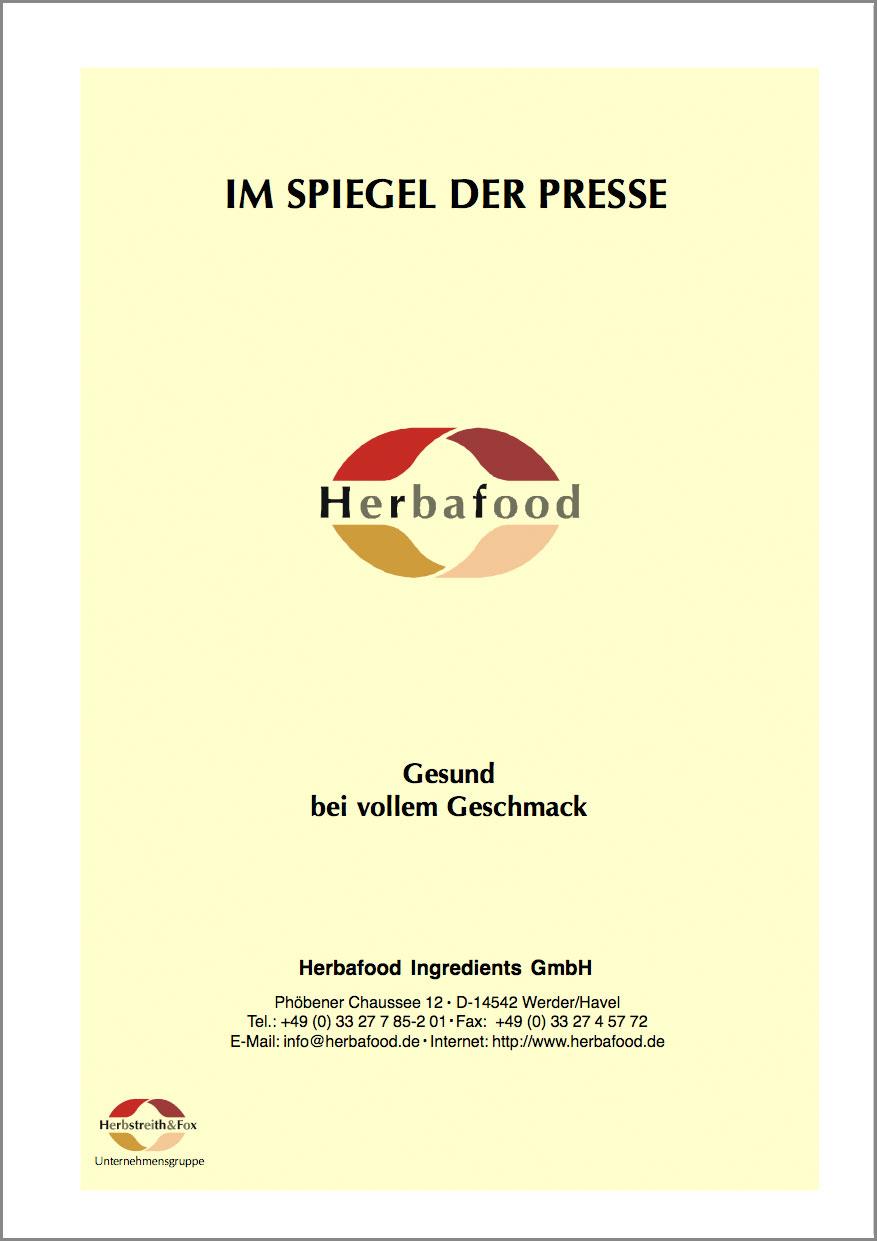 Gesund bei vollem Geschmack - Apfel- und Zitrusfasern mit ausgeprägten Wasserbindungsvermögen  Format: PDF - Größe: ca. 0,2 MB