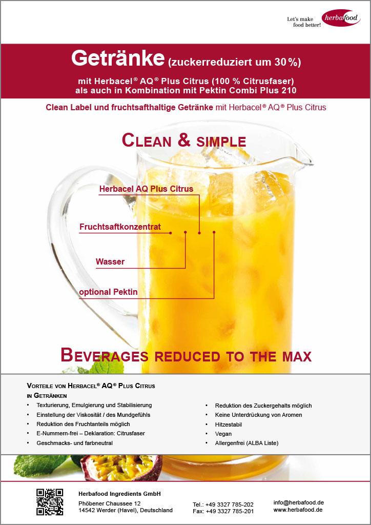 Herbacel® AQ® Plus Citrus – Getränke (Format: PDF – Größe: 532 KB)
