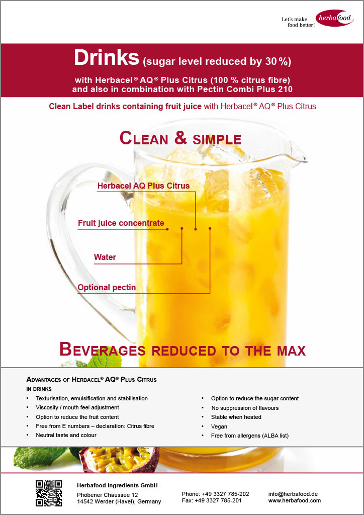 Herbacel® AQ® Plus Citrus – Drinks (Format: PDF – Size: 527 KB)