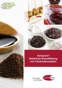Herbarom® – Natürliche Braunfärbung von Feinkostprodukten (Format: PDF – Größe: 400 KB)