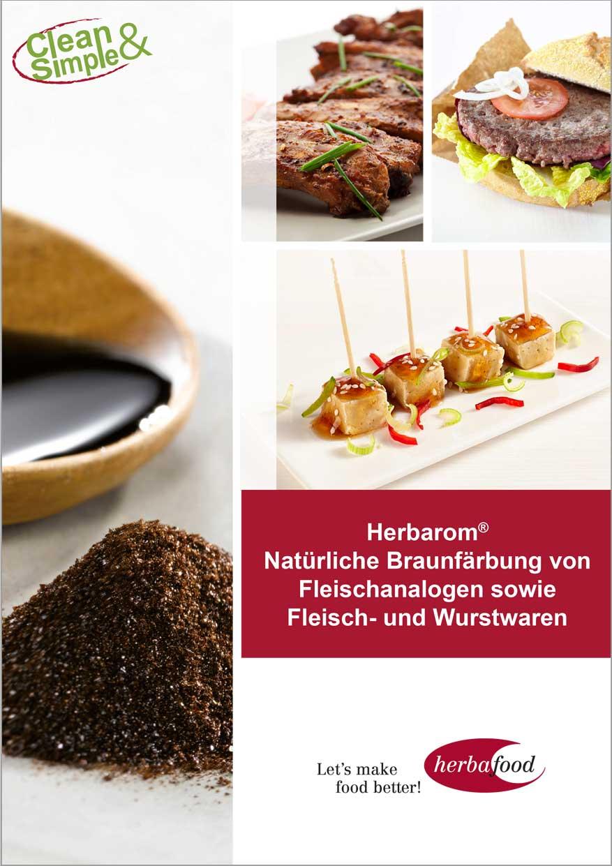 Herbarom - Natürliche Braunfärbung von Fleischanalogen sowie Fleisch- und Wurstwaren  (Format: PDF – Größe: 800 KB)